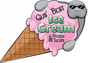 Gus's Best Ice Cream Sign