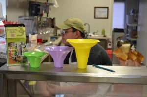 Shave ice cups